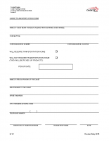Annex E – Transportation Form